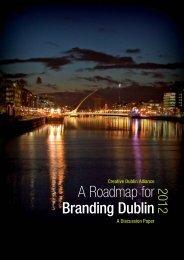 CDA – A Roadmap for Branding Dublin 2012 – A Discussion Paper