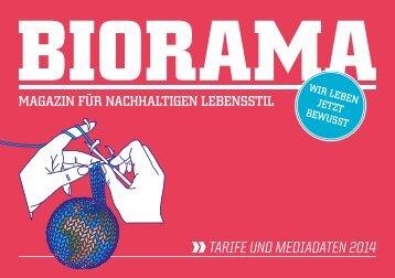 Tarife und MediadaTen 2014 - Biorama