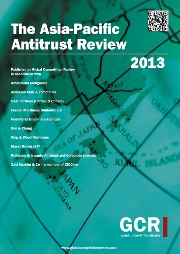 2013 The Asia-Pacific Antitrust Review