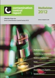 contamination control report Mediadaten 2012 ... - SIGImedia AG