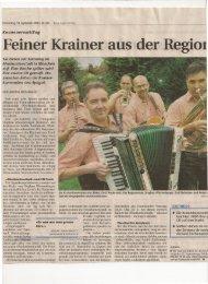 18. September 2008 Zeitungsbericht in der Neuen Zuger Zeitung