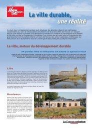 Villes durable, une réalité - Association des maires de grandes villes ...