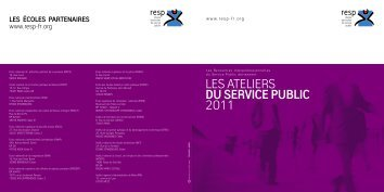 LeSateLIeRS du service public 2011 - Santé - Sécurité au Travail ...