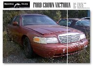 ford crown victoria ford crown victoria - Mainline Stunts