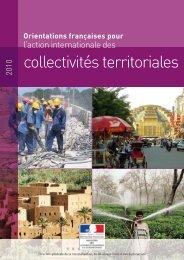Orientations françaises pour l'action internationale des collectivités