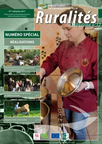 Ruralités Magazine n°12 - Réseau wallon de Développement rural