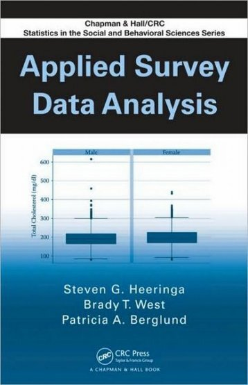 1 Applied Survey Data Analysis: Overview