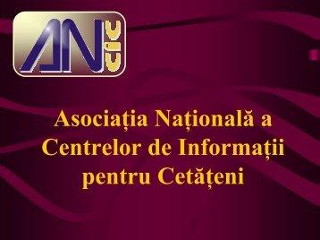 Prezentare ANCIC Bucuresti