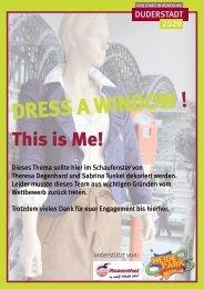 DRESS A WINDOW ! - Duderstadt 2020