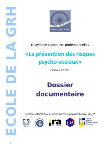 Dossier documentaire - Fonction publique