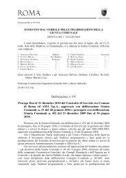 Deliberazione della Giunta Comunale n. 197 del 1 luglio 2010 - Ama