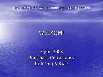 Manual training kwaliteitsmanagers en auditors - adron.sr