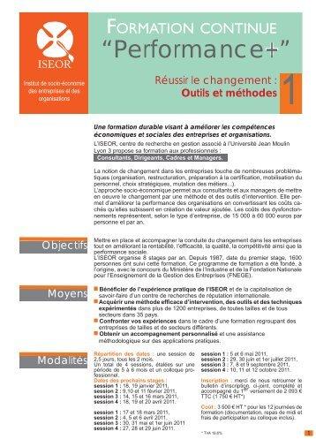 Voir détail > Télécharger la plaquette (pdf) - ISEOR