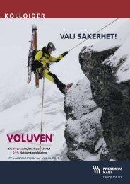 Voluven - Välj säkerhet - Fresenius Kabi