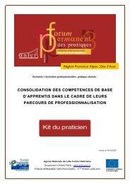 Consolidation des compétences de base d'apprentis dans le cadre ...
