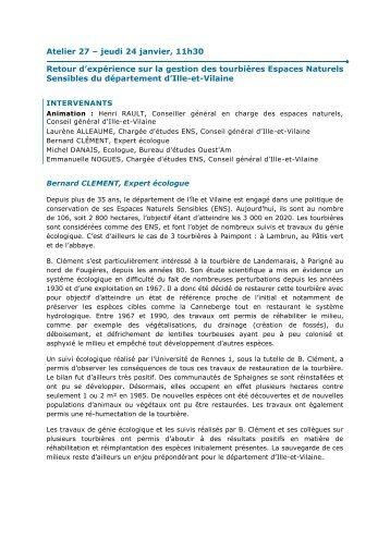 Ouvrir - Carrefour des Gestions Locales de l'Eau
