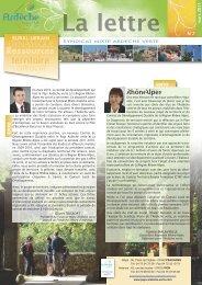 Mise en page 1 - Syndicat Mixte Ardèche Verte