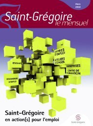 Mise en page 1 - Saint-Grégoire