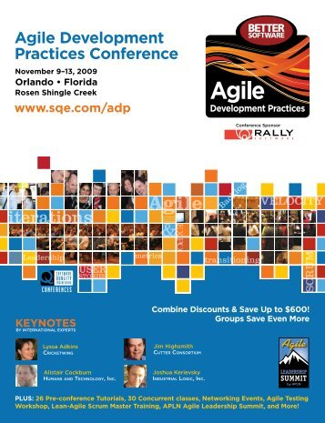 Agile Development Practices Conference - SQE.com