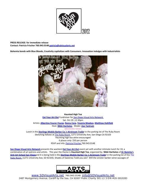 Press Release - San Diego Visual Arts Network