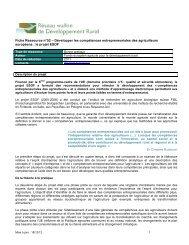 FRess52_UE_ESOF - Réseau wallon de Développement rural