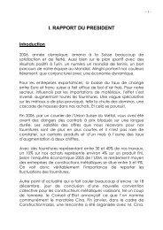 Rapport d'activité 2006 - Association Valaisanne des Entreprises de ...