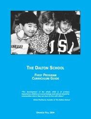 mathematics - The Dalton School