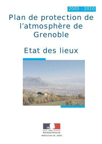 Plan de protection de l'atmosphère de Grenoble ... - Le Vert Tronchois