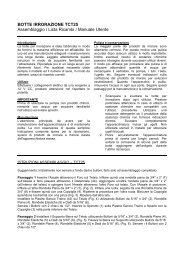 TCT25 - Manuale d'uso - FIABA Srl
