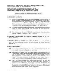 Compra de Flocos Milho (.pdf) - Conab