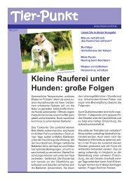 Mai 2011 - Kleintierpraxis Dr. Fritz