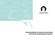 Agence de communication Comme un arbre - Territoires Durables ...