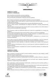 LOGROS DE GRADO 11° NOMBRE DE LA UNIDAD: ESTADÍSTICA ...