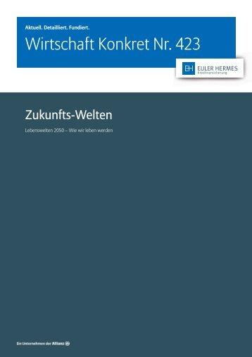 Wirtschaft Konkret Nr. 423 - Zukunfts-Welten