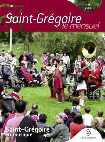 Saint-Grégoire, le Mensuel Mai 2010