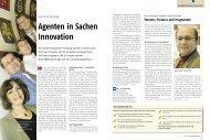 Agenten in Sachen Innovation - Nord-Handwerk