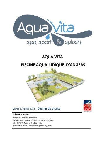 Aqua Vita, une piscine pour tous les angevins - Presse - Angers