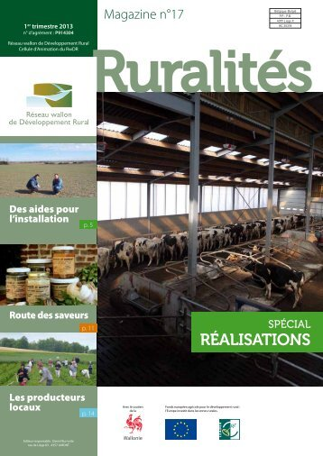 réalisations - Réseau wallon de Développement rural