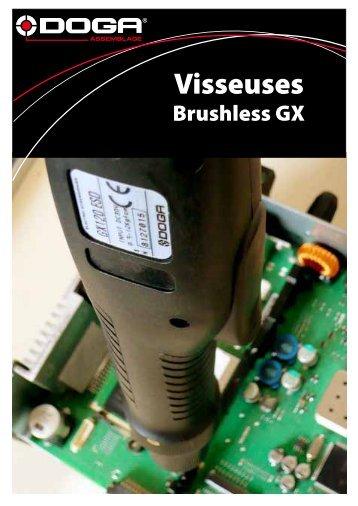 Visseuses Brushless GX 30 Volts 0,09 à 1,2 Nm - Doga