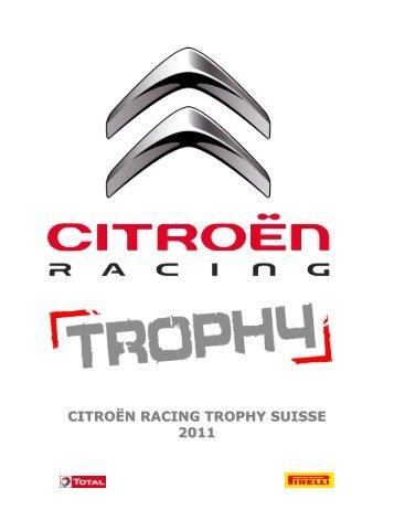 citroën racing trophy suisse 2011 - Championnat suisse des rallyes