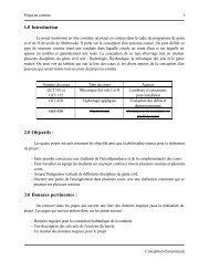Description du projet - Université de Sherbrooke