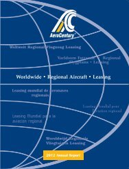 2012 Annual Report to Shareholders - AeroCentury Corp.