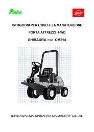 CM 214 - Manuale d'uso - FIABA Srl