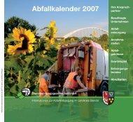 Getrennte Abfallentsorgung - Stendal