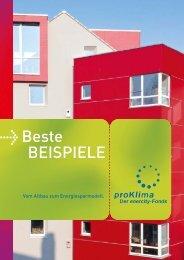 Beste Beispiele - proKlima Hannover