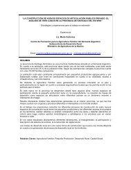La construcción de nuevos espacios de articulación ... - aader.org.ar