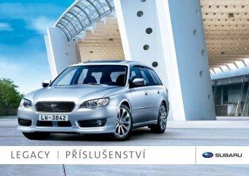 LEGACY PŘÍSLUŠENSTVÍ - Subaru