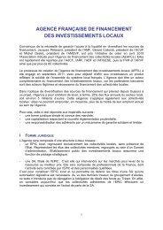 La fiche de présentation de l'AFFIL - Association des Maires de France