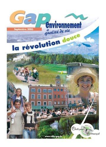 environnement - Ville de Gap