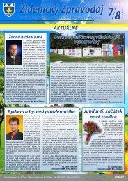 Židenický Zpravodaj - Městská část Brno - Židenice